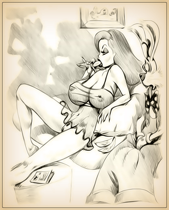 roger vagina jessica rabbit who framed rabbit Clash of clans queen naked