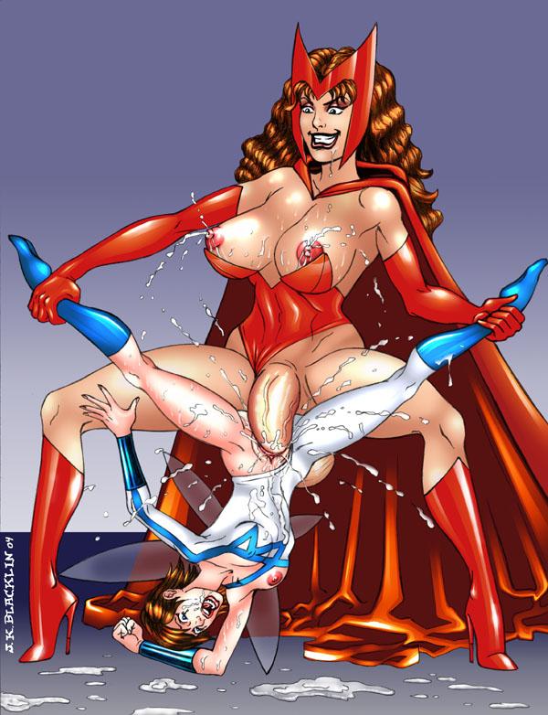 elizabeth scarlet porn olsen witch Yu-gi-oh! hentai