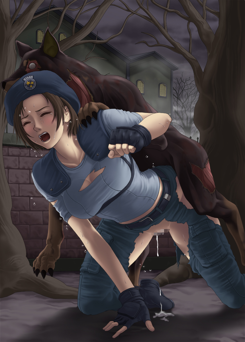 brian irons 2 evil resident Spice and wolf