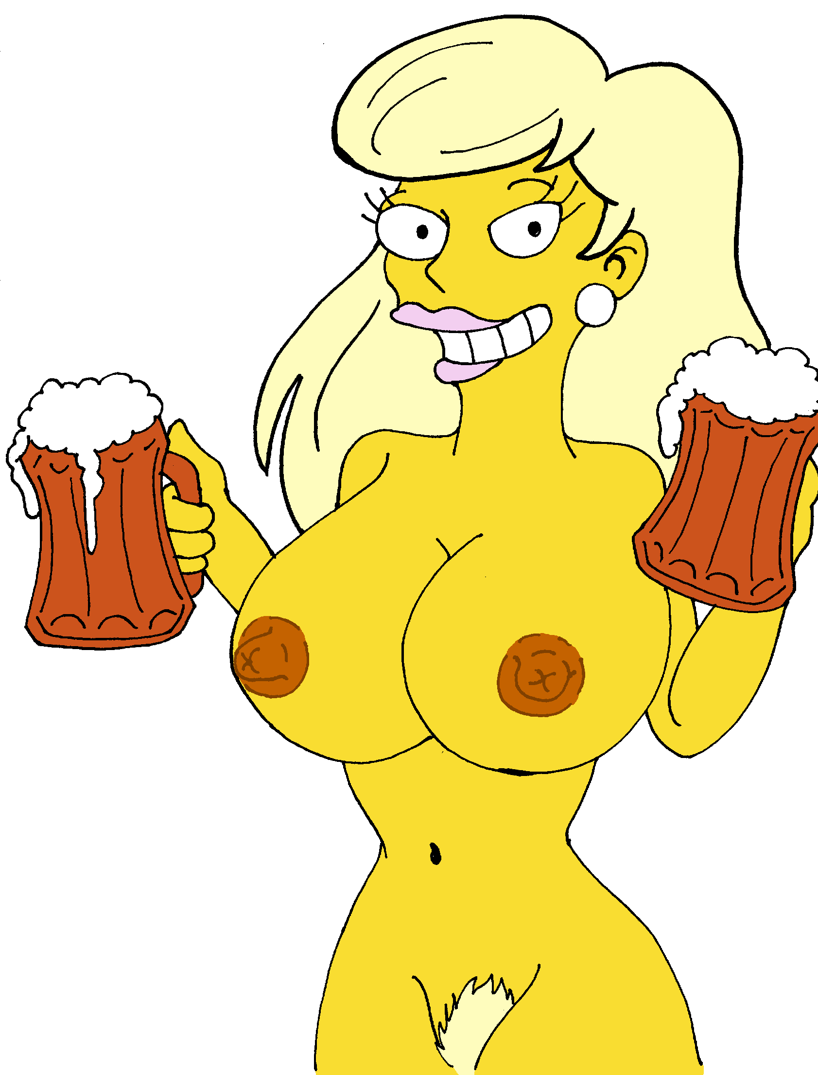 the naked from marge simpsons Kung fu panda boss wolf