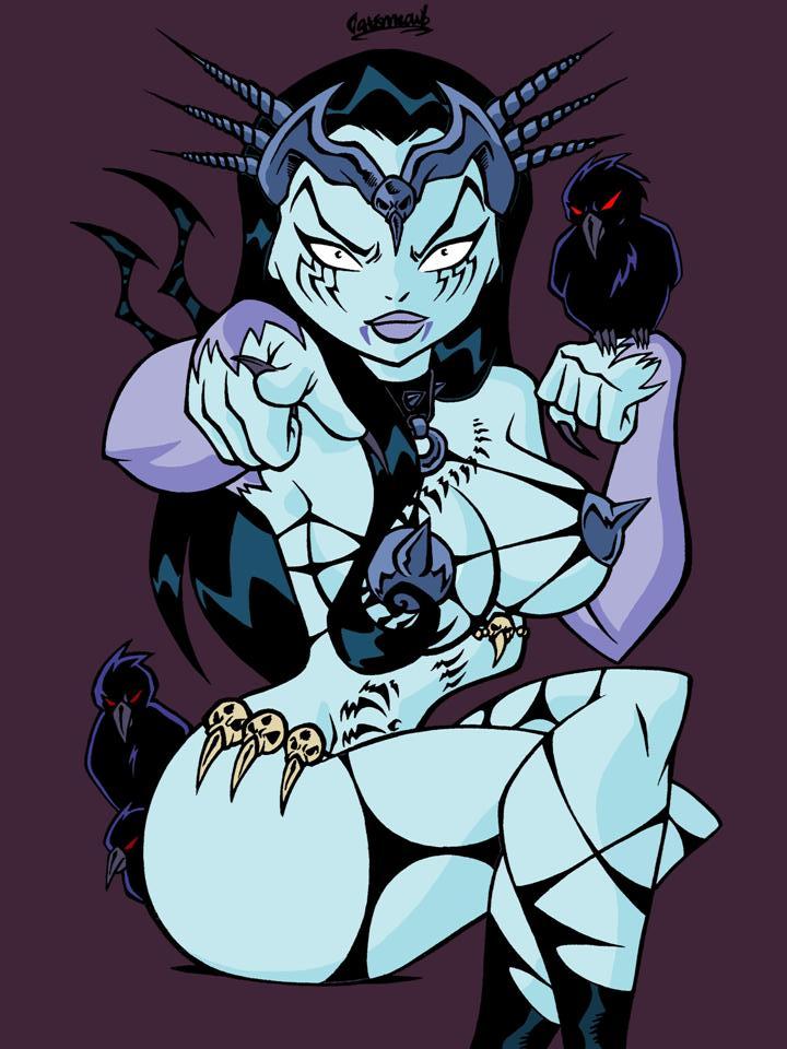 the nude of black tarot witch rose Dragon ball super mai hentai