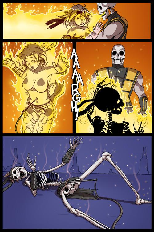 vs sonya dc mk blade Calvary of a failed knight