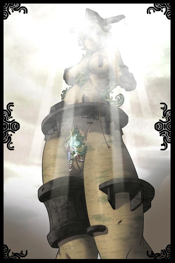 kuromori the shadow of colossus The sadist the evil within