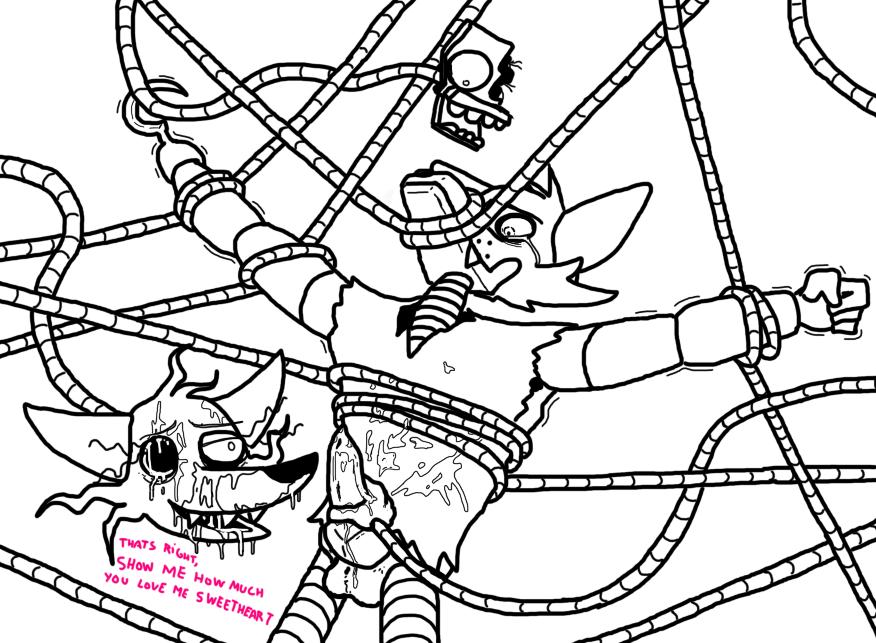 and fanfiction mangle foxy fnaf Dragon ball z rule 63