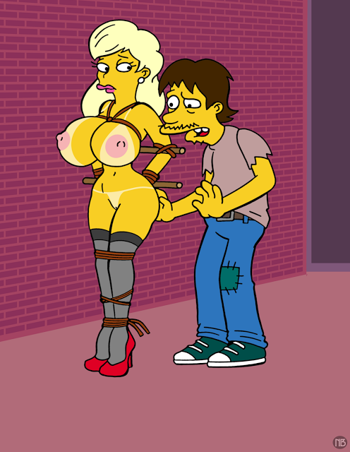 marge the naked simpsons from No game no life stephanie hot
