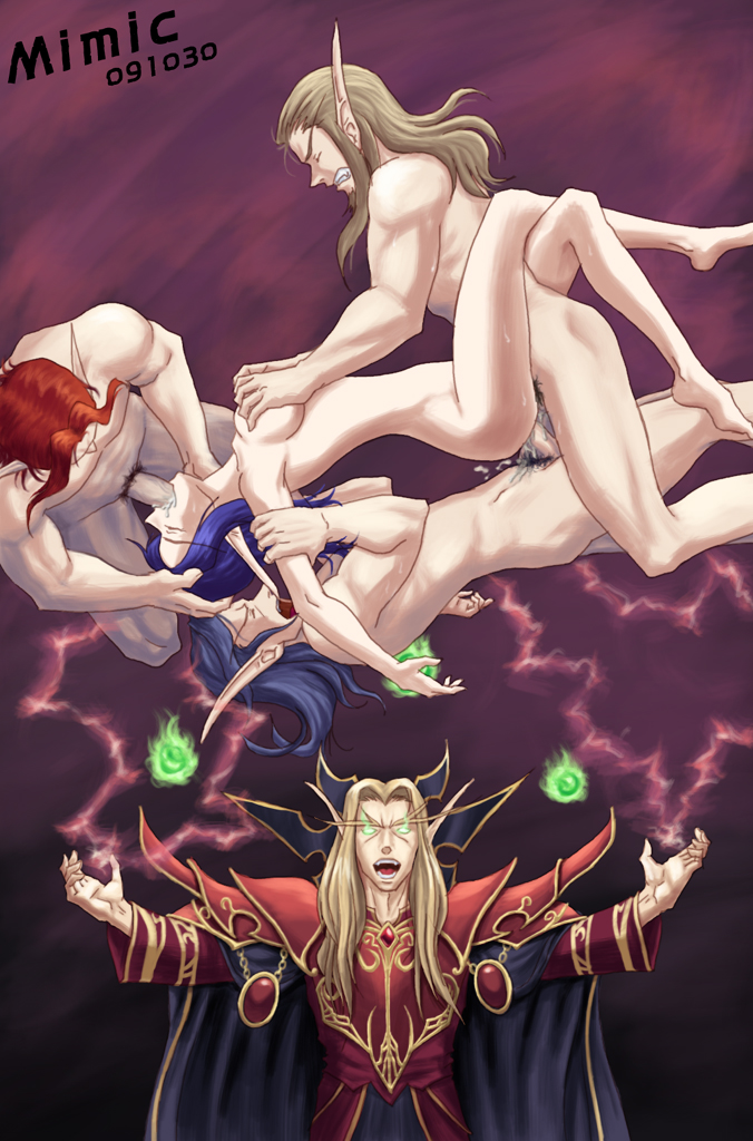 blood female death knight elf Dragon ball z videl is crushed