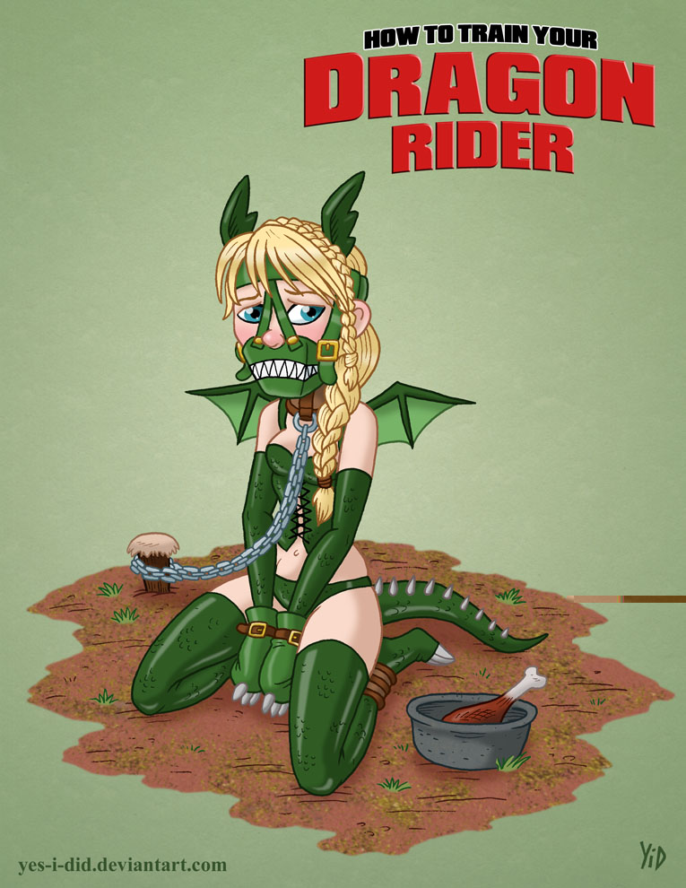 plays how train to dragon astrid in your who Mighty switch force hentai gif