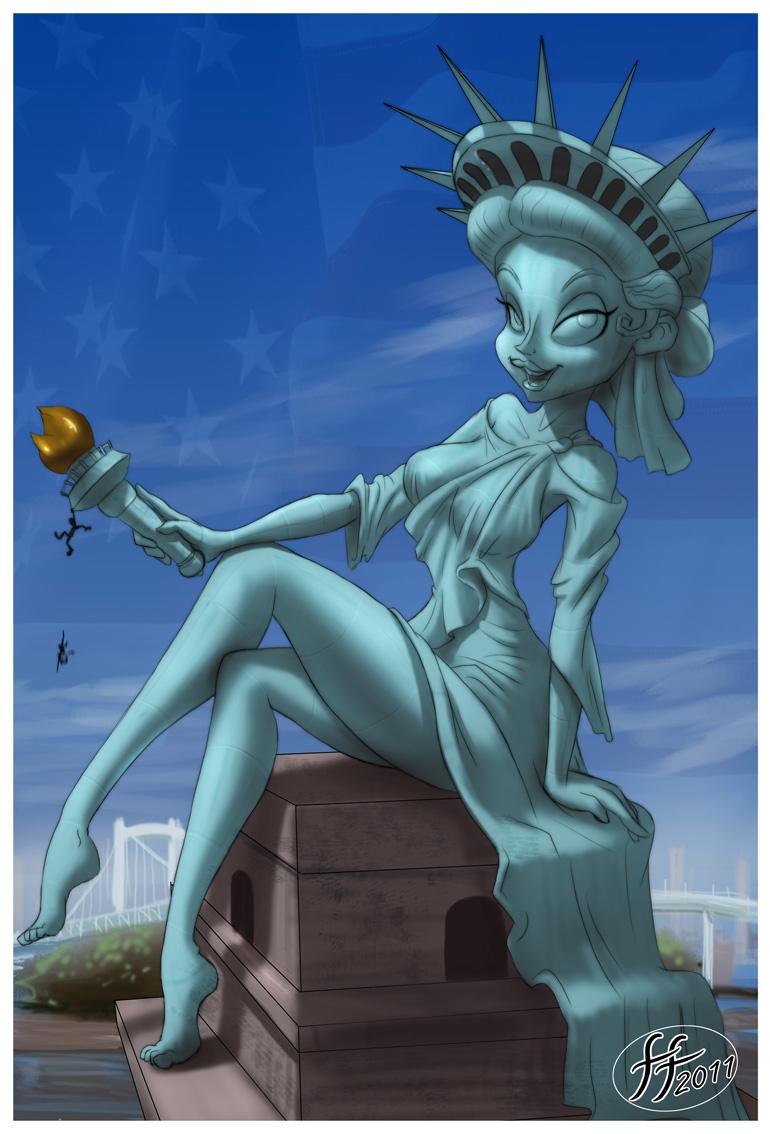 of liberty statue Spyro reignited trilogy elder dragons