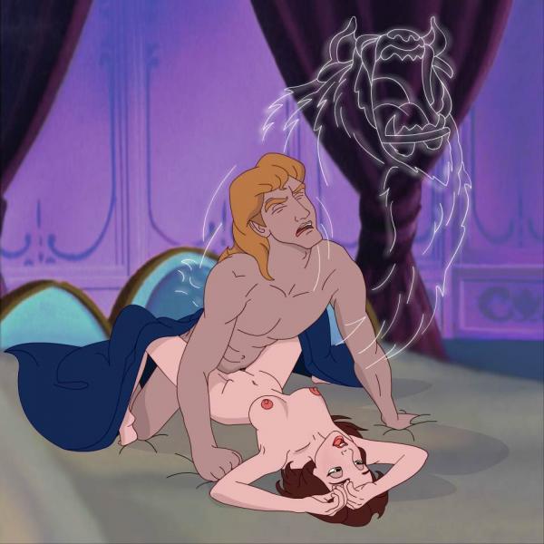 and belle beast beauty nude the Youkoso! sukebe elf no mori e translation
