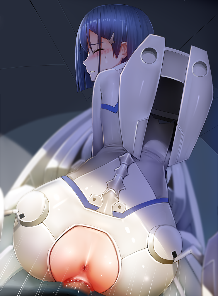 franxx ichigo in darling the crying Riven of a thousand voices art