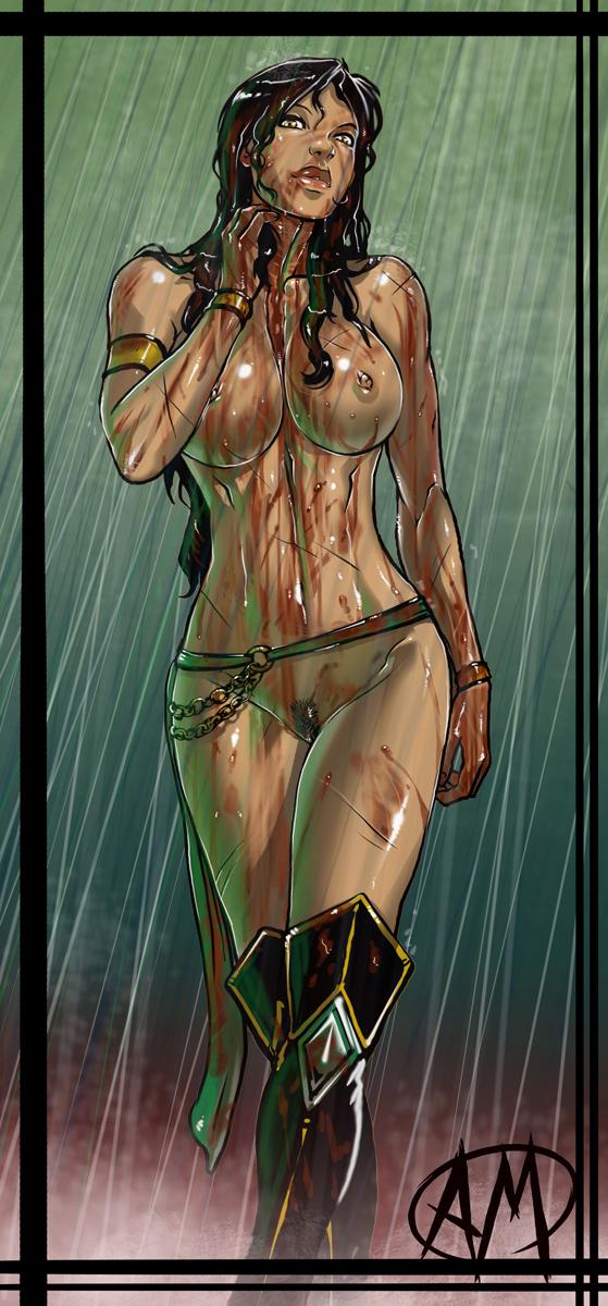 jade kombat) (mortal Scooby doo camp scare daphne