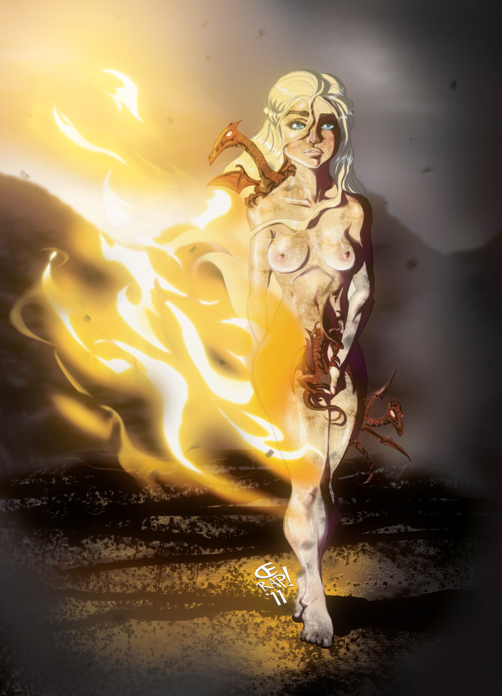 and darkstar song of fire a ice Is this a jojo reference?