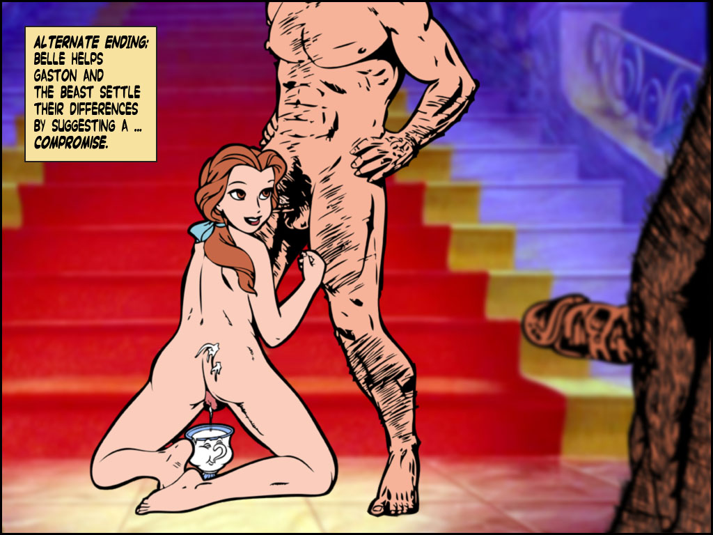 beast nude beauty belle and the Kumo desu ga nani ka shiraori