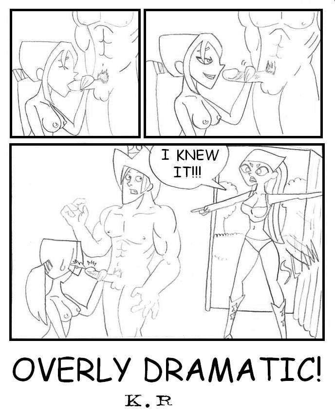 drama island hentai total courtney Gay furry porn fox comics