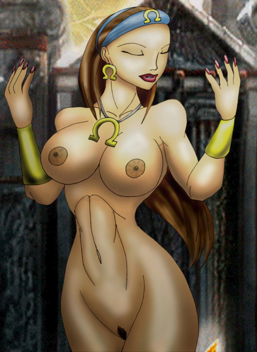 war the witch god of Evangeline a.k. mcdowell uq holder