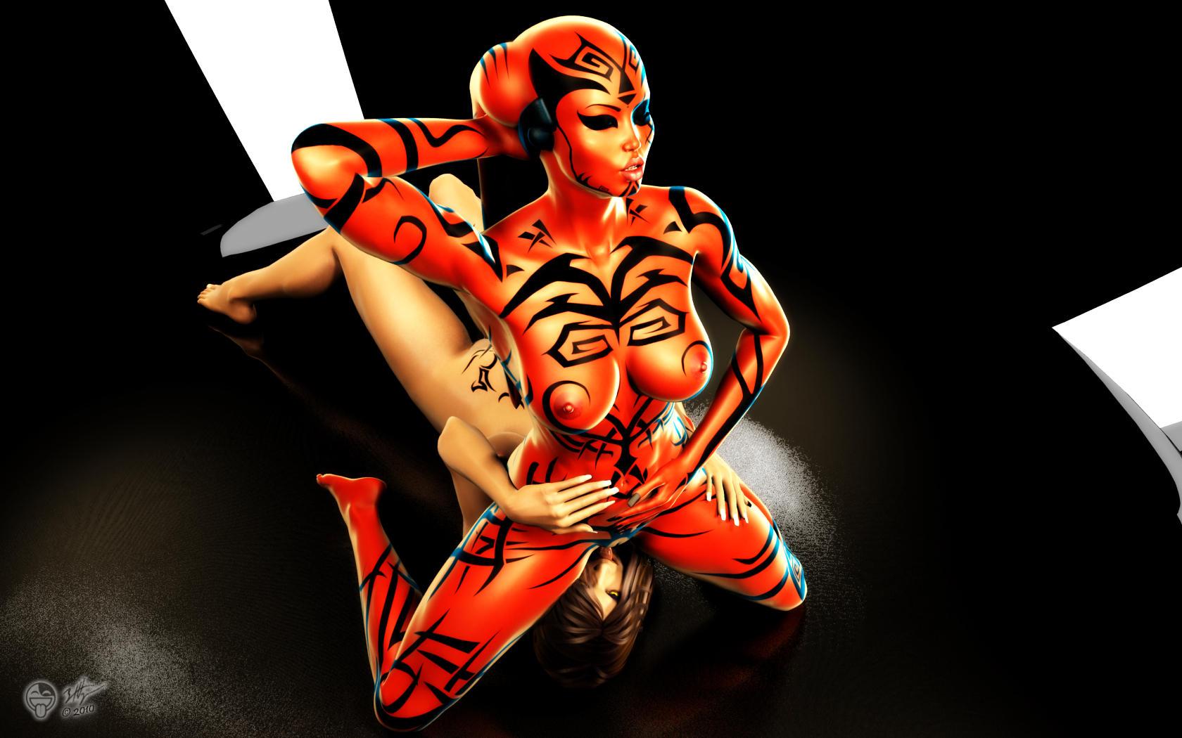 talon darth hot wars star The hanasia, queen of all saiyans