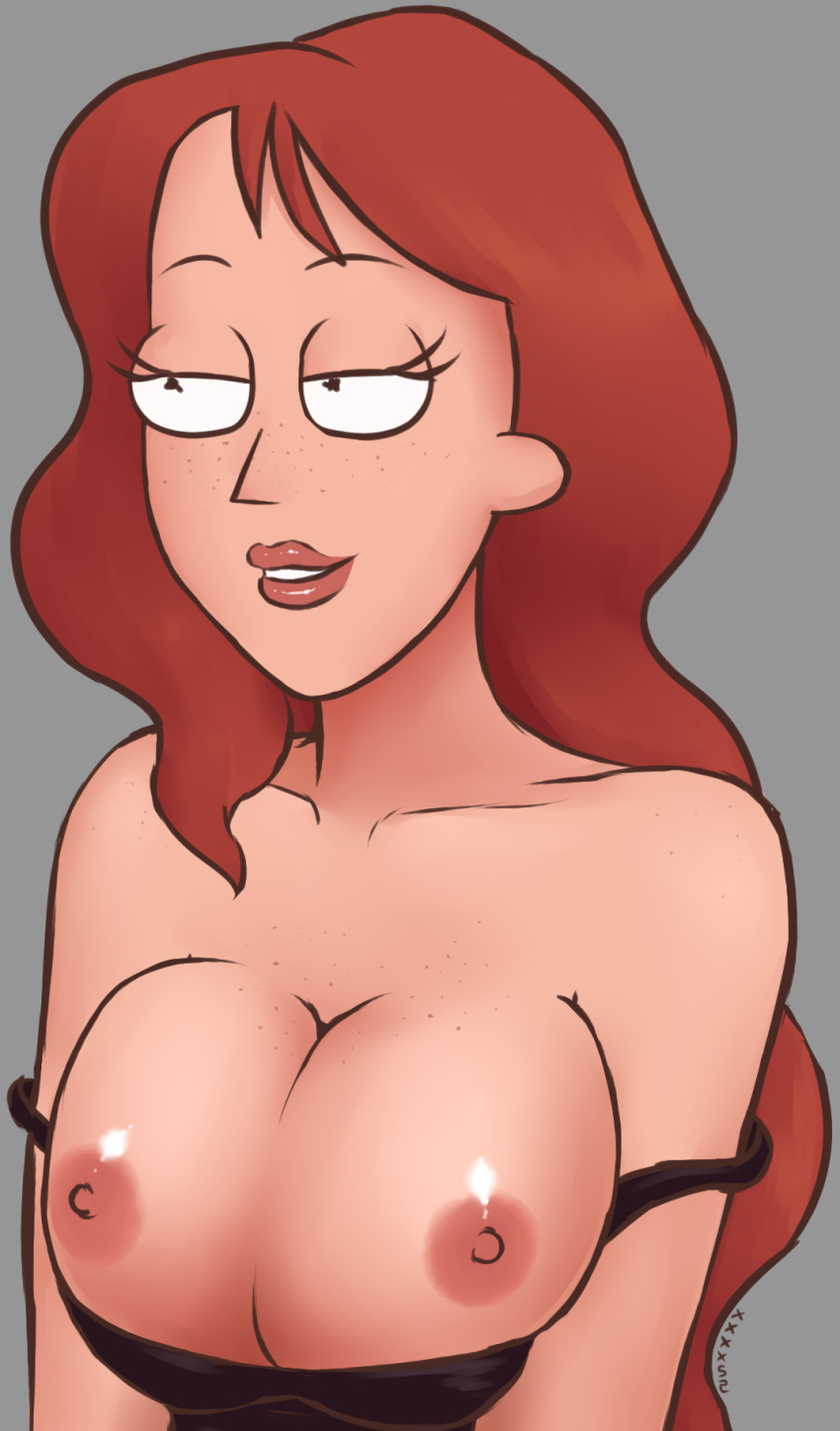 morty beth and rick Highschool of the dead naked