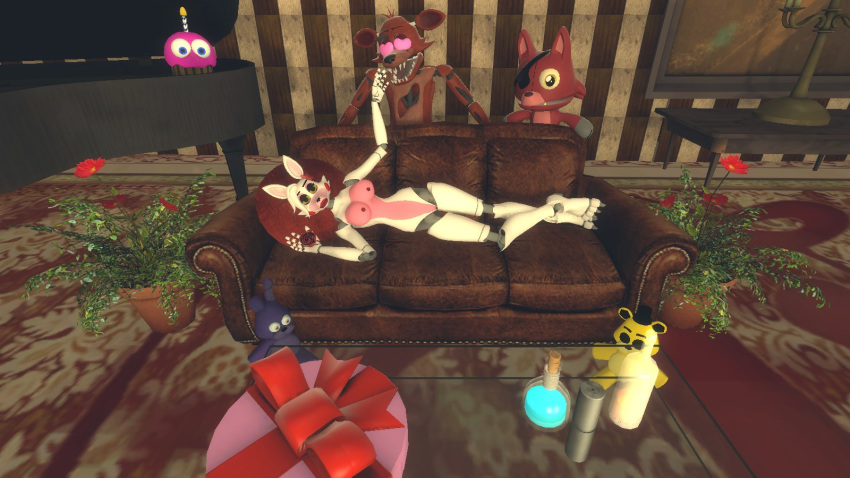 foxy fanfiction and fnaf mangle Least i could do cindy