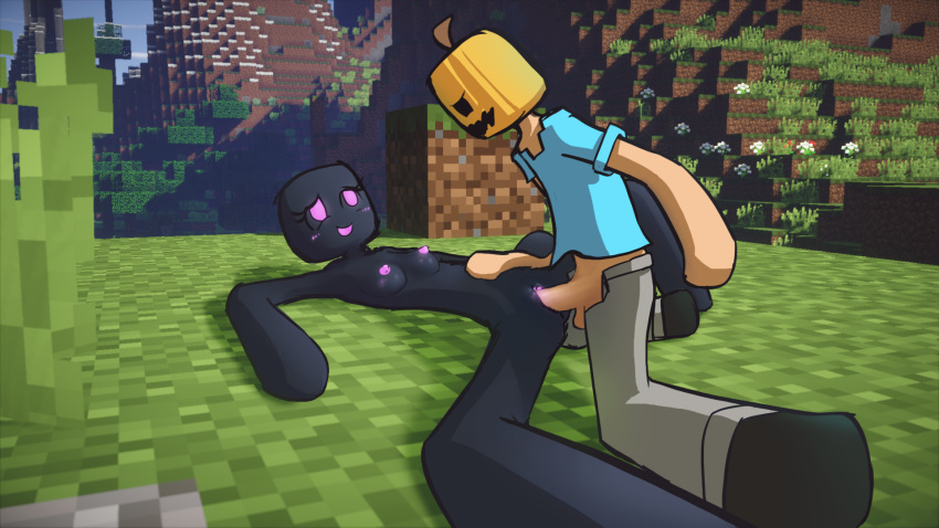 enderman minecraft golem iron vs Tengen toppa gurren lagann viral