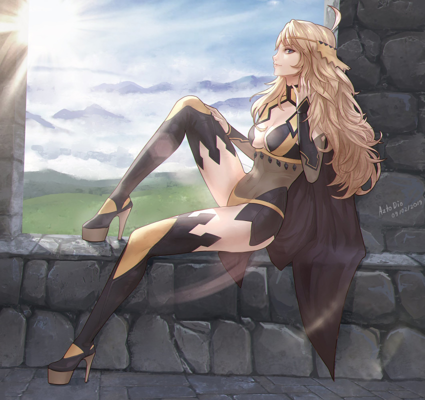 emblem fire robin Panty and stockings with garter belt