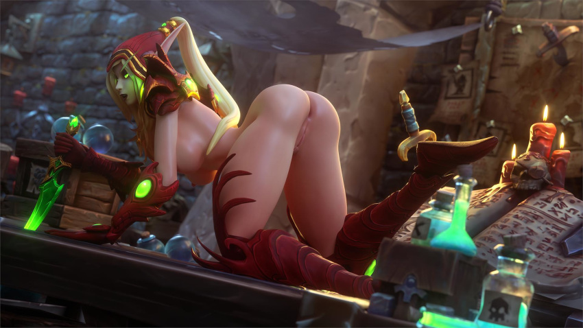 warcraft elf world of blood symbol Manyu hiken-cho gif