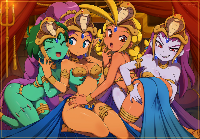 curse and pirate's shantae the hentai Steven universe pink hair girl