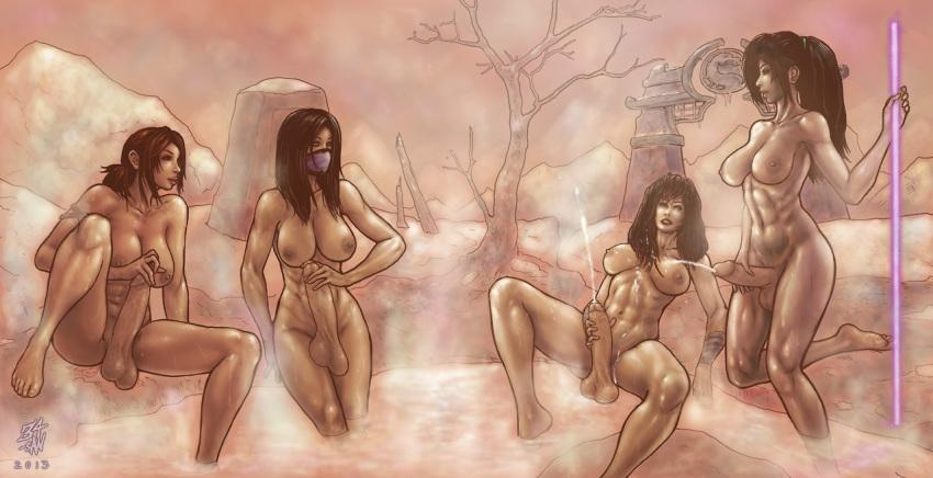 mileena kombat gif porn mortal Chief riju breath of the wild