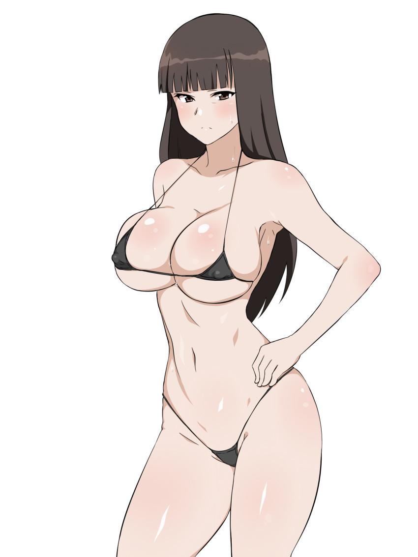 anime busty girls in bikinis Incha bishoujo wa, tannin ni okasarete mo ikimakuru