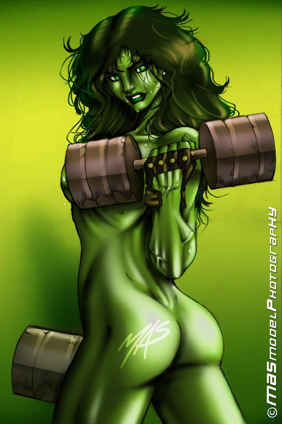 moon hulk full she transformation Musaigen no phantom world bikini